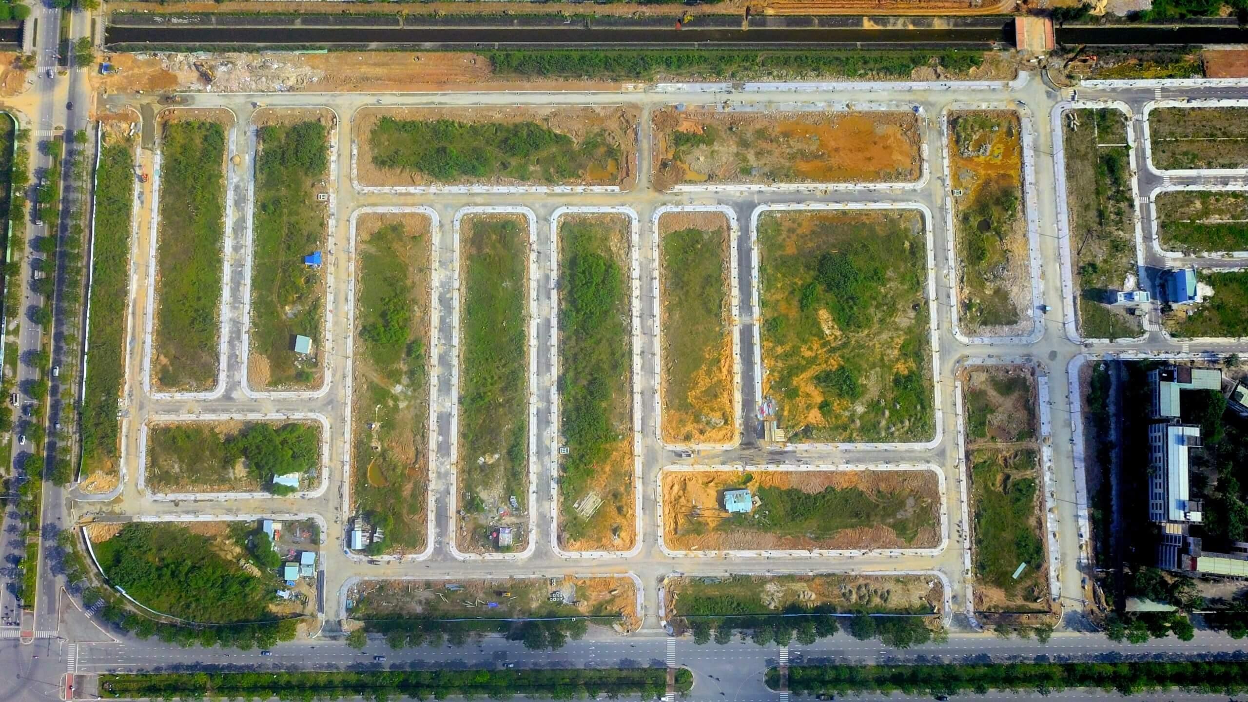 tiến đô khu E kim long city flycam