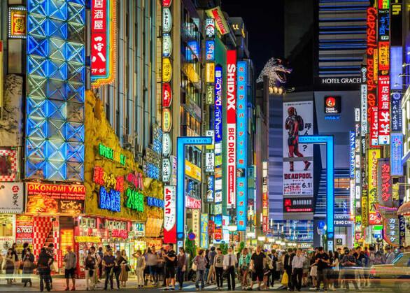 Phố đi bộ tokyo mini