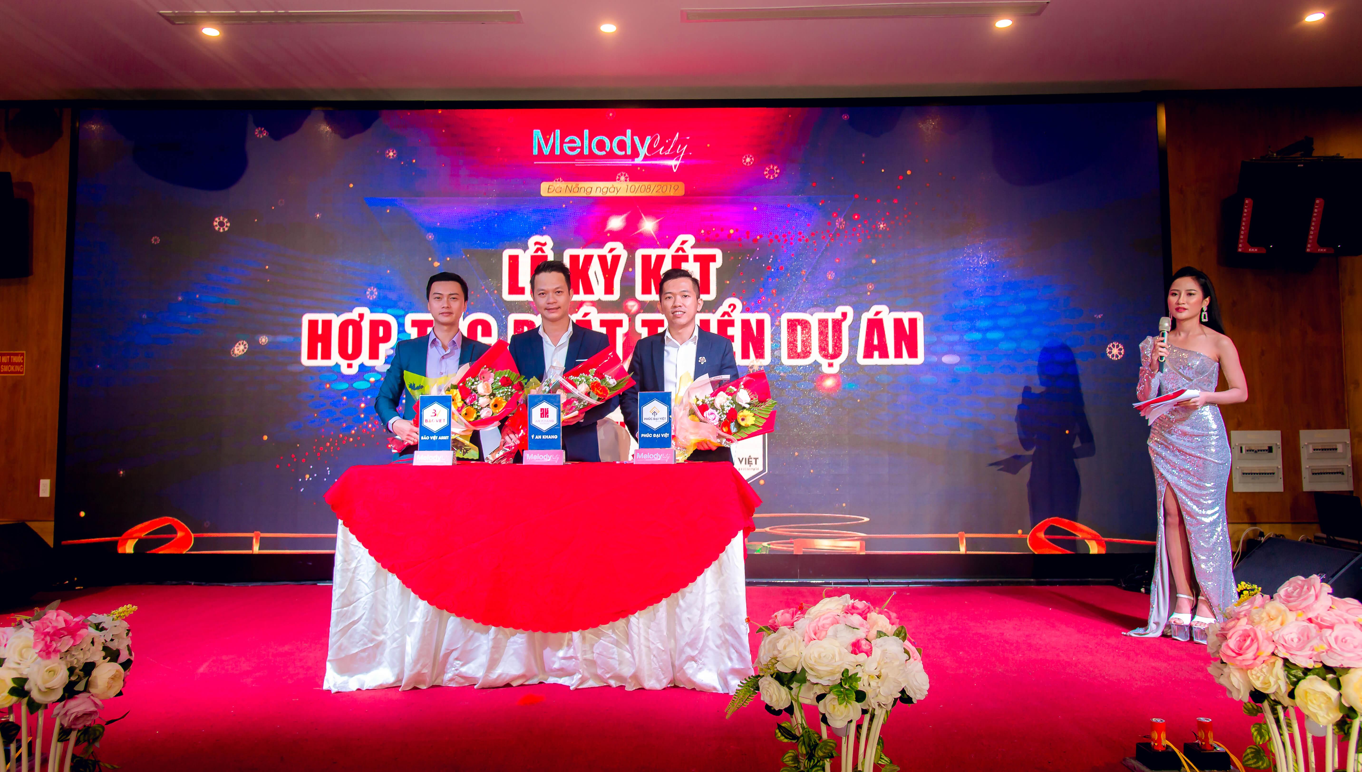 Lễ Ra mắt dự án melody city 12