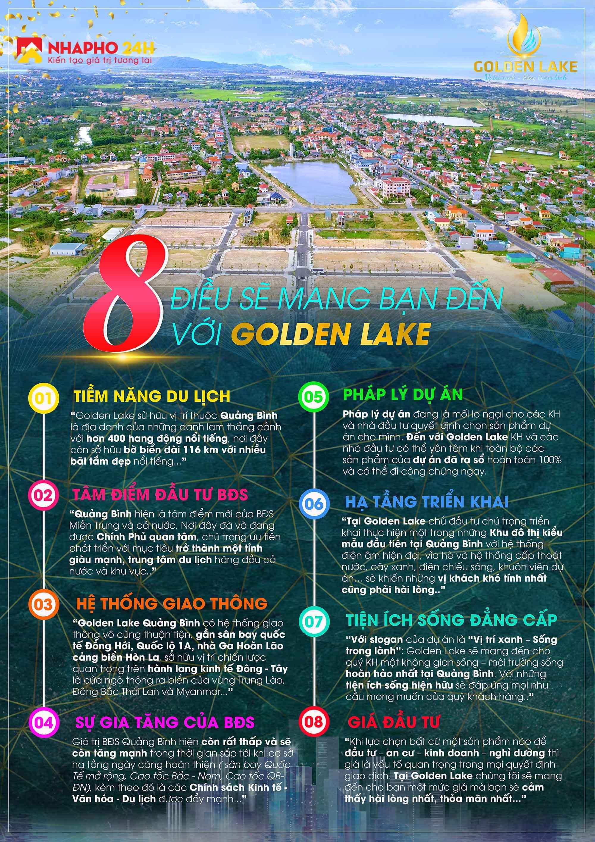 golden lake đồng hới