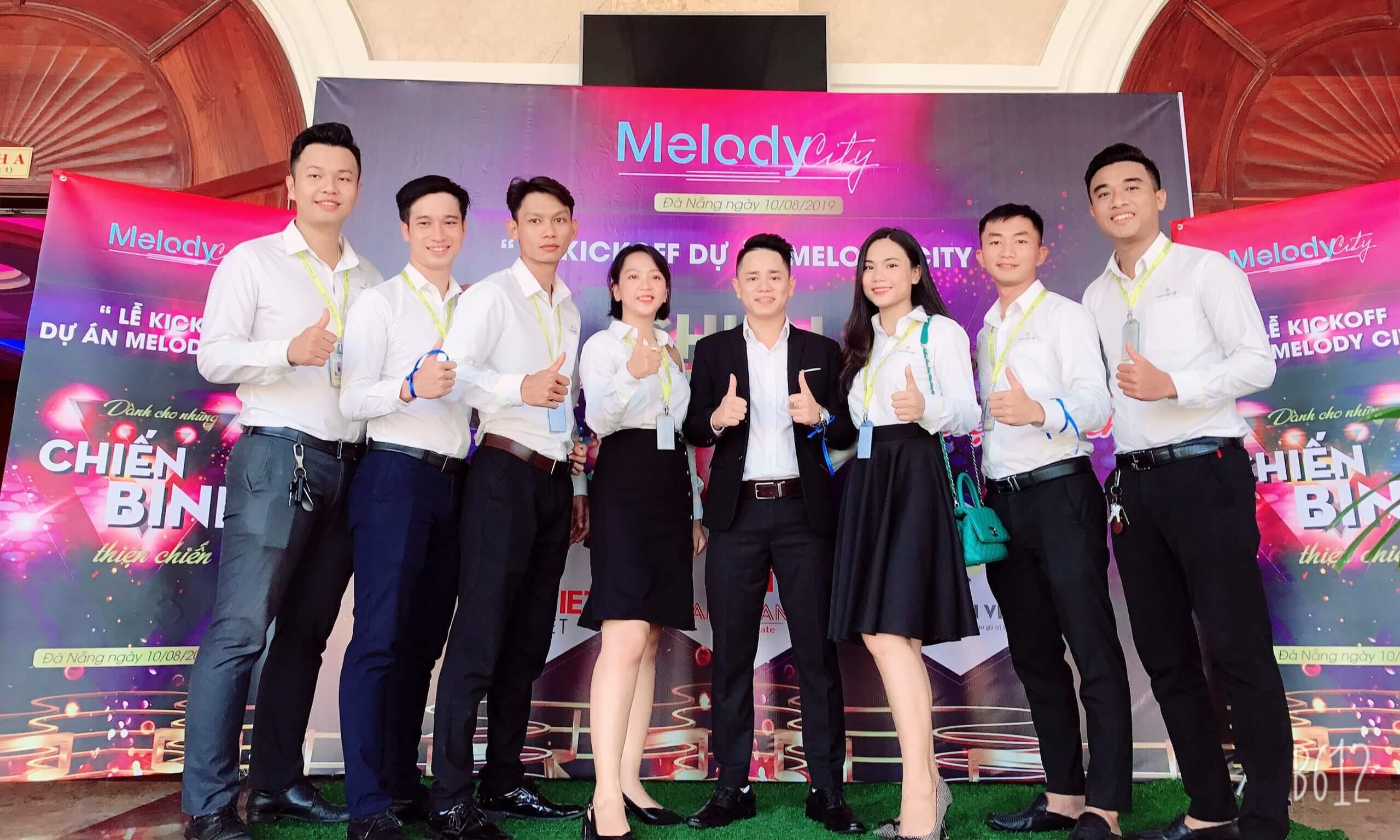 lễ ra mắt dự án melody city