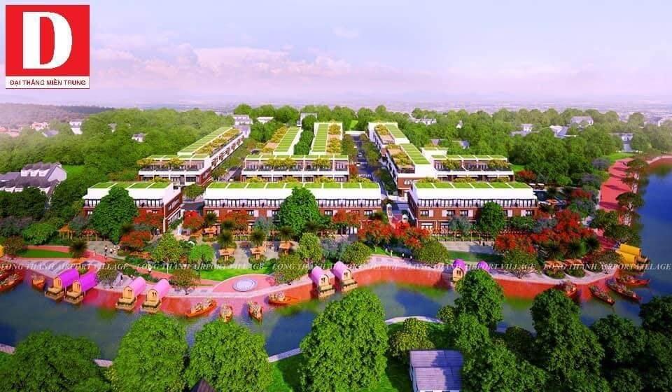 Nội khu airport village