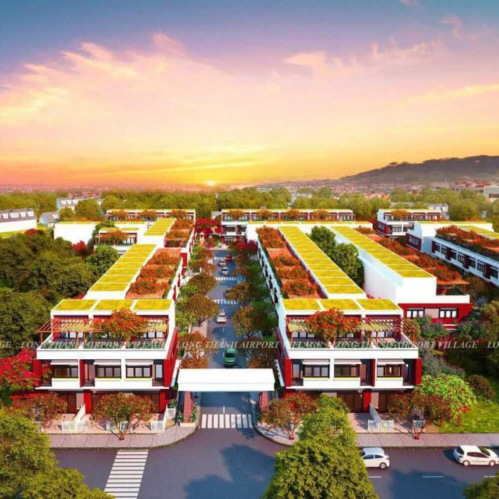 dự án long thành airport village