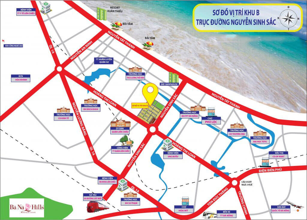 kim long city khu B