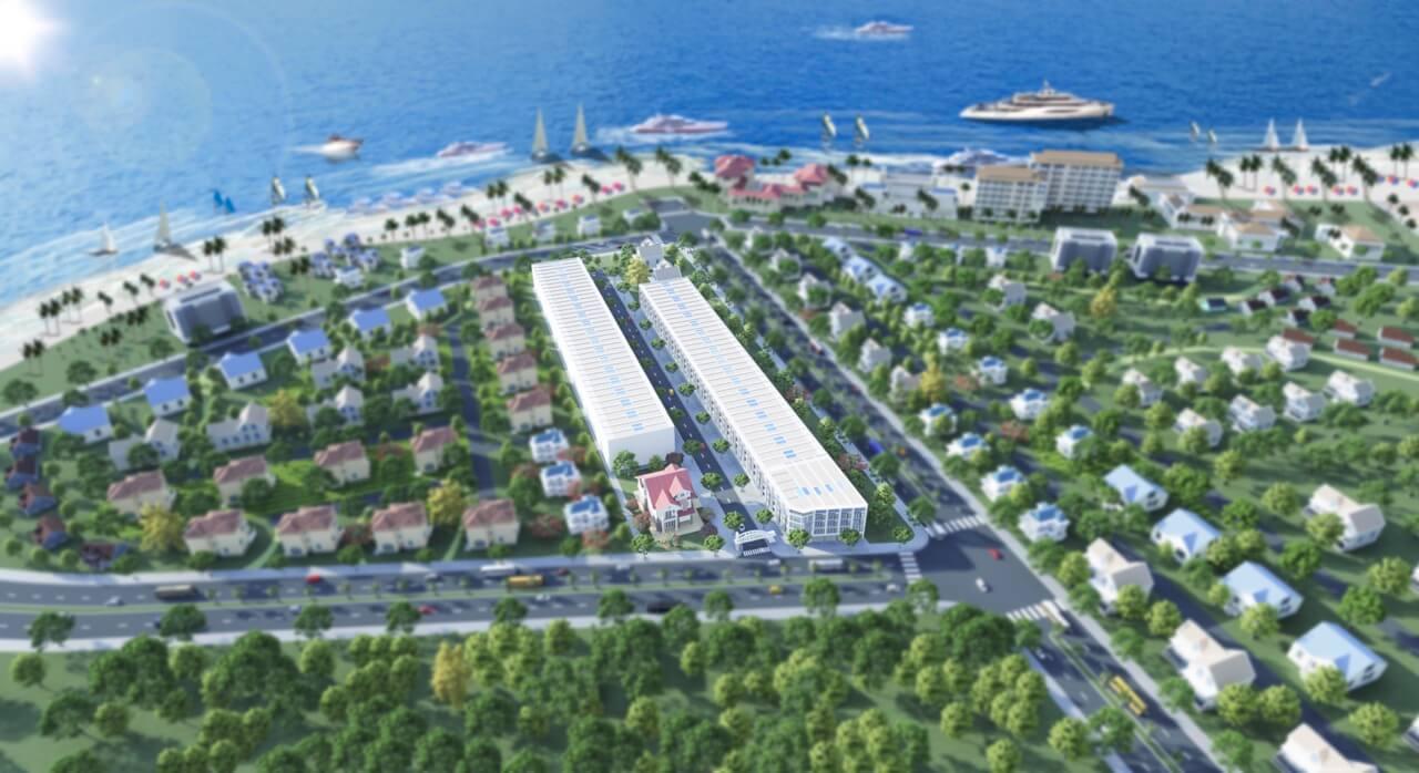 dự án hồ tràm ocean town