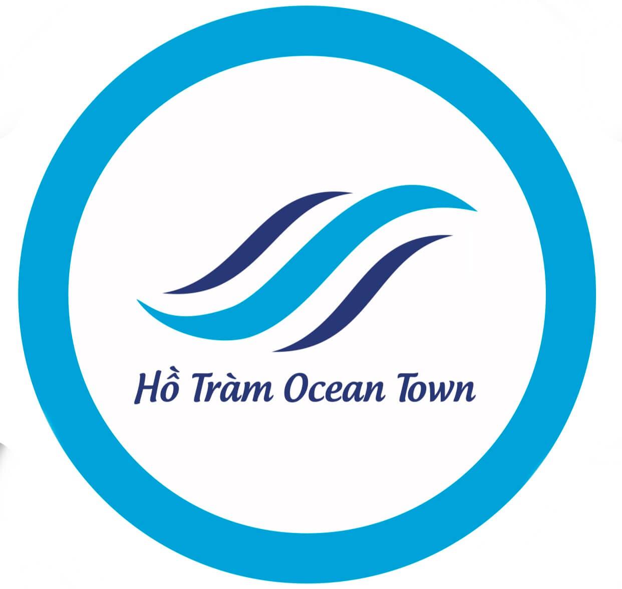 logo hồ tràm ocean town