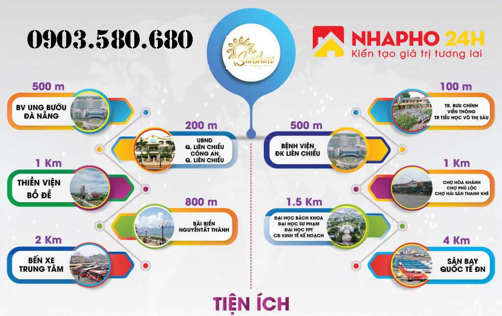 Tiện ích tại dự án Sunshin Luxury Đà Nẵng