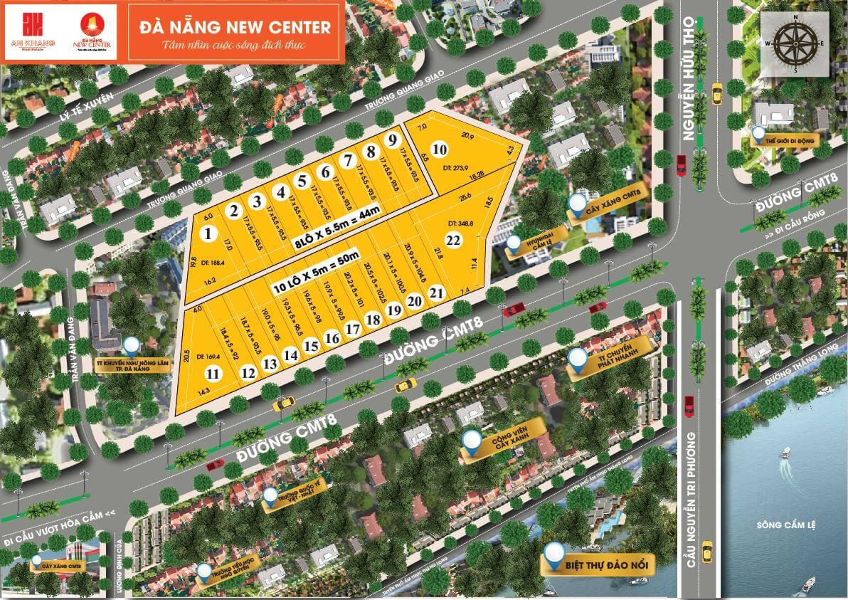 dự án new center đà nẵng sơ đồ