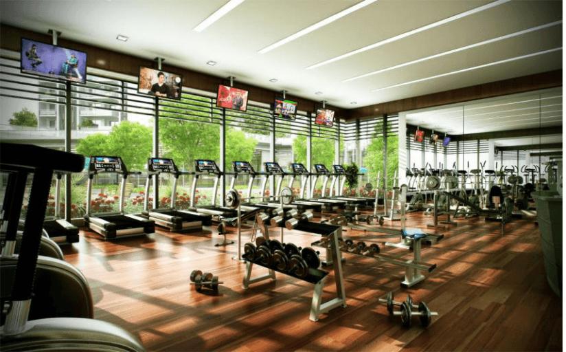 phòng tập gym de 1st quantum huế