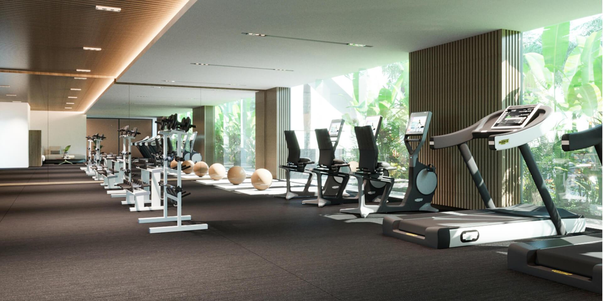 phòng tậm gym the royel